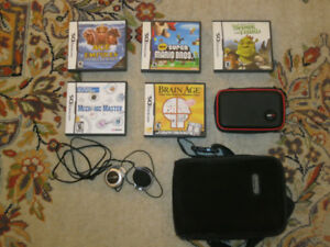 Jeux DS, Headphones, Cases