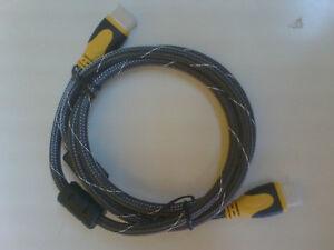 Câbles HDMI 1.4v, 3D 1.5M