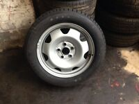 Vw transporter t5 t5.1 steel rim with brand new tyre