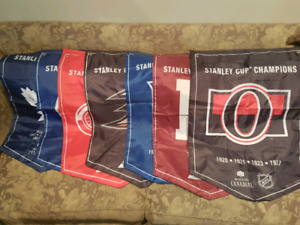 Molson Canadian Stanley Cup Banners