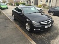 Mercedes-Benz C-Class Diesel Coupe Automatic CDI 220 AMG Sport + Premium Plus