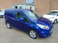 2016 FORD TRANSIT CONNECT 1.6TDCI LIMITED FULL LOADED VEY CLEAN VAN MUST SEE
