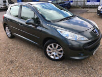 2007 '57' Peugeot 207 1.6 HDI 110 SE. Diesel. Manual. 5 Door. £30 TAX. Px Swap
