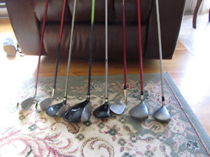 Assortment  of Clubs