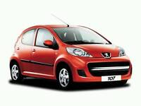 Peugeot 107 for sale (not actual car in photo)