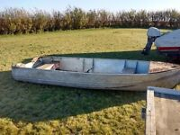 14 foot Aluminum Boat only