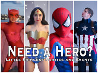 Hiring Children Entertainers for Superhero Roles