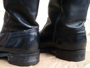 EUC Mens Black Leather Western Boots Williams Lake Cariboo Area image 7