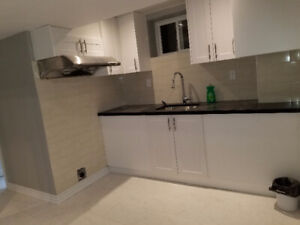 Rooms in a newly renovated SHARED basement for rent immediately