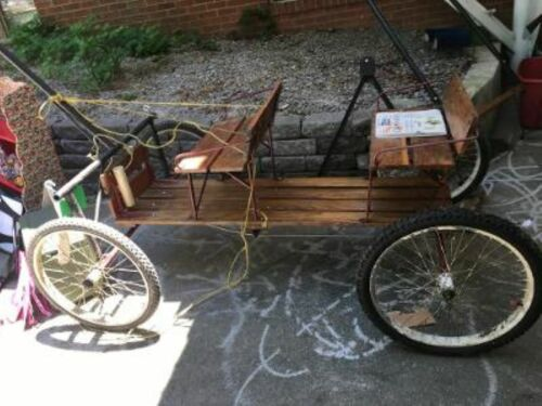 Vintage Horse, Pony , Buggy Cart seats 4 ,with several Hook ups, Parades etc.