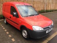 20011 Red Vauxhall Combo 1.3CDTi 16v 1700