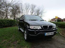 BMW X5 3.0i SPORT (black) 2003