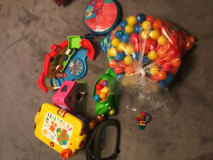 TOYS and safety mirror baby and toddler toys and gear must go