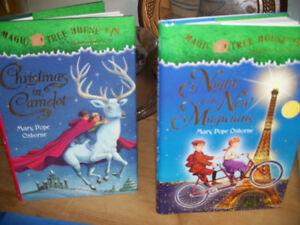 2 MAGIC TREEHOUSE BOOKS and TWO DIARY of a WIMPY KID books