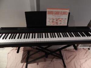 88 weighted keys digital piano Yamaha P105