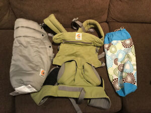 Ergo baby 360 carrier with infant insert