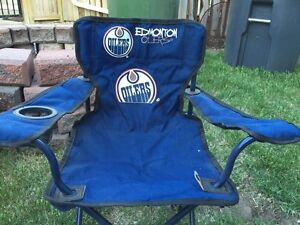 OILERS folding chair