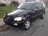 2005 Mercedes-Benz M-Class VUS..ML350 Executive 77800km