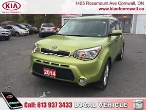 2014 Kia Soul EX+ AT  | Local Trade | Low KMS | Well Cared For |