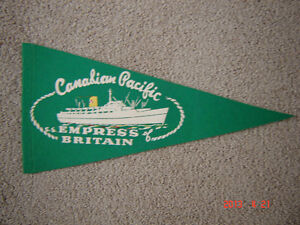 Four vintage collectable pennants London Ontario image 1