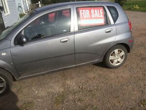 2008 Chevy aveo open to offers