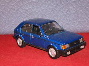 1985 Dodge Omni GLH Turbo AMERICAN GRAFFITTI Diecast Car 1:24