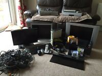 Printer, keyboards, tv,monitor,plus more old tec