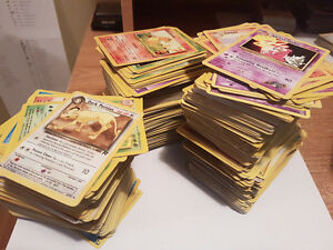 Over 1,000 Old School Pokemon Cards