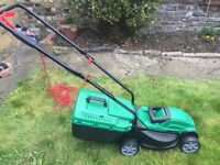 Nearly new mower £40 Ono. Collect from Brixton