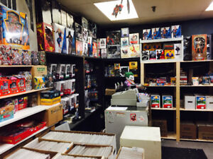Warehouse Sale. Toys, Statues, Comics, Cards & more.