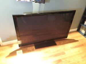 "58"" Samsung plasma HDTV"