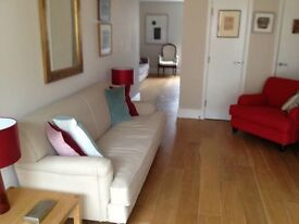 Stylish, central flat with garage and terrace for weekdays