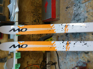 Back Country skis, 180 & 190cm. by One Way OW68 Snowlander