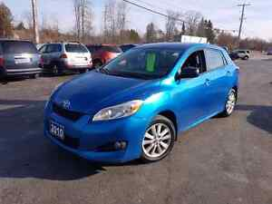 2010 Toyota Matrix 120k 5 speed  cert etested we finance!  Belleville Belleville Area image 1