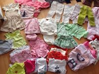 Newborn to 4 years old baby clothes . Excellent condition.