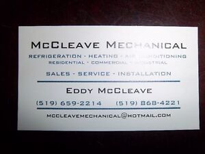 McCLEAVE MECHANICAL HVACR London Ontario image 1