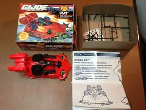Gi Joe vehicles complete with box lot 2 West Island Greater Montréal image 4