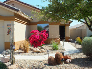 Golf Vacation home in city of Maricopa Arizona for rent