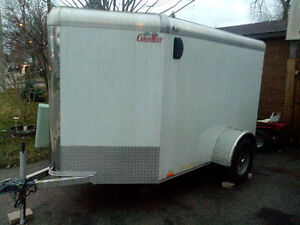 Cargo Mate OUTLAW MOTORCYCLE Trailer.Aluminum.