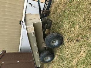 Tandem axle ATV Tub trailer