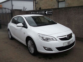 "11 61 VAUXHALL ASTRA 1.6 VVT EXCITE LTD EDN 5DR WHITE 17"" ALLOYS B/TOOTH CRUISE"