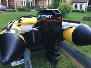 25 HP Mercury Outboard Excellent Condition