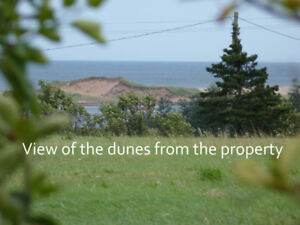 Large waterview building lot / highest viewpoint in Malpeque