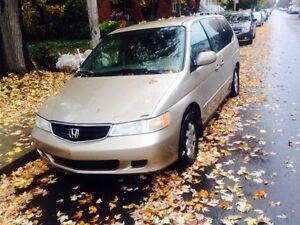 Honda Odyssey 2002 Vente rapide Nego