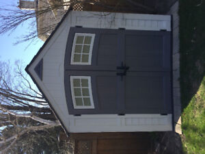 Suncast Resin Outdoor Shed