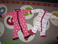 Girl sz 0-3month lot. Includes, Kickee Pants, Bunnies by the bay