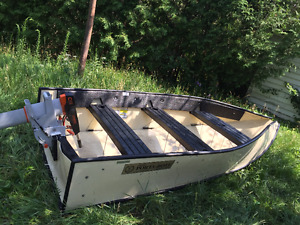 10' Porta-bote Folding with Oars Perfect Condition