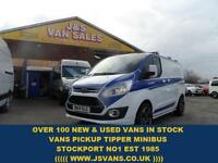 2014 14 FORD TRANSIT CUSTOM FORD TRANSIT CUSTOM LTD 125 SWB FULL M SPORT LOOKS