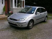 Ford Focus 1.6i 16v 2002.25MY Zetec