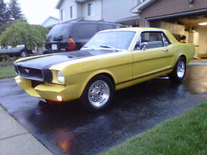 """1965 Mustang coupe """"Last Chance"""""""